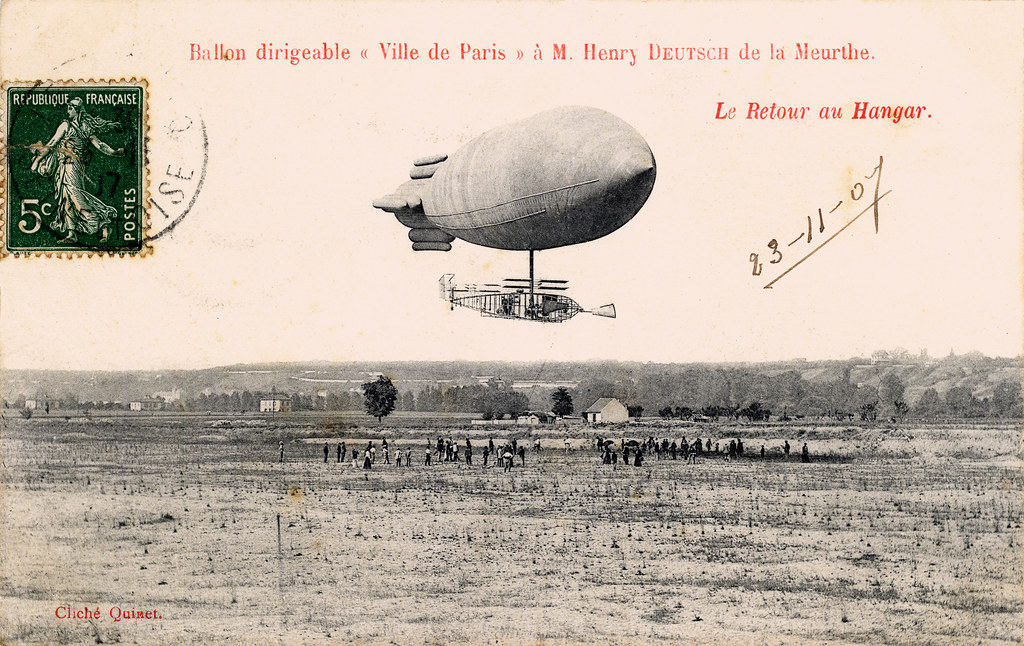 Ville De Paris Dirigeable