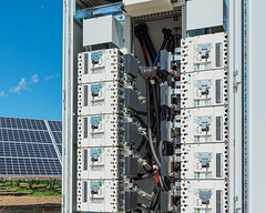 Solar Array and Recombiner Panel (I saw_that) Tags: sun green solar energy power panel uncool electrical circuit breaker module sustainable array conductor reusable recombiner uncool2 uncool8 uncool4 uncool5 uncool6 uncool7