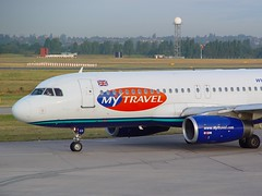 MyTravel Airways - Airbus A321-231 G-VCED @ Birmingham (Shaun Grist) Tags: airport birmingham aircraft aviation airline airbus aeroplanes a320 birminghamairport mytravel avgeek gvced