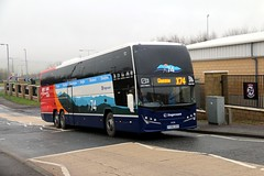 54258 YY65SXV Stagecoach Western (busmanscotland) Tags: volvo glasgow elite western express stagecoach moffat dumfries plaxton sxv x74 54258 b11r interdeck yy65 yy65sxv
