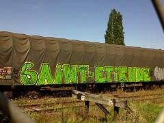 saint etienne (keeskia) Tags: france st train alpes wagon graffiti tag graff etienne graffeur sncf rhone tagger bach
