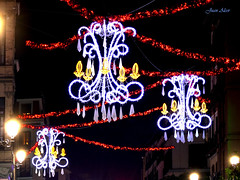 Luces Navideas 2015. Calle Mayor (Madrid) (Juan Alcor) Tags: madrid navidad luces calle mayor nocturno lucesnavideas