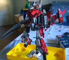 Macross Frontier YF-29 Durandal (the_silent_photographer) Tags: lego transform mech macross battroid gerwalk wingsofgoodbye