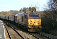 EWS - DB Schenker Class 67 67021 - Chesterfield (the mother '66' 66001) Tags: chesterfield ews class67 67021 dbschenker