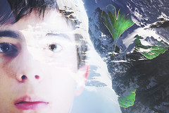 6 (zakchalmers) Tags: canon eos t2i 6 eye ginkgo tree mountain sky overlay double exposure freckles