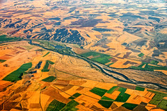 Aerial view of the red river in Cappadocia, Turkey (CamelKW) Tags: turkey2016 aerialview redriver cappadocia turkey