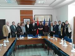 Besuch im Parlament der Republik Kosovo