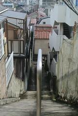 tokyo5993 (tanayan) Tags: urban town cityscape tokyo jyujyo japan nikon j1    road street alley slope