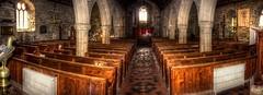 St Just in Penwith Parish Church (diminji (Chris)) Tags: stjust st just stjustchurch churches church cornwall southwest westcountry hdr hdrtoning pano panorama churchpews penwith stjustinpenwith photomerge