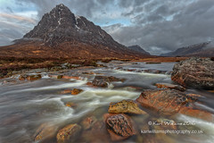 The Buachaille (5) (Shuggie!!) Tags: glencoe hdr highlands hills landscape morninglight mountains rivers rocks scotland snow water zenfolio karl williams karlwilliams