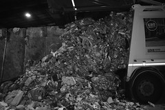 Drop off (fintyosborne) Tags: garbage unload lorry truck waste