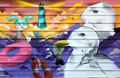 (Noem pl.) Tags: graffiti arte urbano arteurbano faro gaviotas urban art