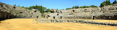 Roman Amphitheatre, Italica (Joseph Pagayonan) Tags: italica amphitheatre santiponce