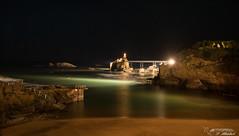 Biarritz-rv (FileasFog) Tags: biarritz rocher vierge nuit plage