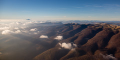 "the ""Lure"" mountain (marclelivre) Tags: lure ventoux provence sisteron avion mountain flight alpes alps"