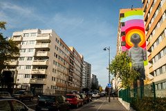Seth (dprezat) Tags: seth paris street art graf tag pochoir stencil peinture aerosol bombe painting urban nikond800 nikon d800