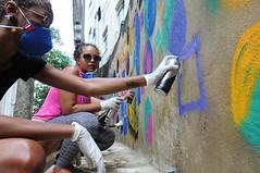 Afrografiteiras Pedra do Sal dia2 03 (Rossana Fraga) Tags: afrografiteiras pedra do sal rede nami