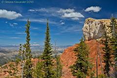 Bryce Canyon National Park (simone_a13) Tags: usa unitedstates utah brycecanyon nationalpark rock geology trees blueskies landscape