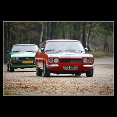 Oldtimer (KoenK68) Tags: car oldtimer classic fordcapri rs2600 ford capri rs fordcapriclubnederland canon ©koenk68