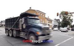 2015 Mack Hemp Dump Truck (dfirecop) Tags: dfirecop mechanicsburg pa pennsylvania 2015 mack hemp dump truc