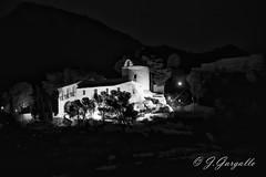 Ermita de la magdalena (J.Gargallo) Tags: magdalena castelln castellndelaplana noche night blancoynegro blackwhite blackandwhite byn bw canon canon450d canonefs18200 eos eos450d espaa 450d monocromtico ermita