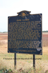 Cairo, Illinois (Black.Doll) Tags: alexandercounty illinois cairo marker historicalmarker historicmarker ghosttown mississippiriver ohioriver thesouth southern theillinoisstatehistoricalsociety
