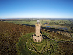 DARWEN TOWER, BEACON HILL, DARWEN, LANCASHIRE, ENGLAND. (ZACERIN) Tags: darwen tower beacon hill darwen lancashire england towers uk ireland only zacerin christopher paul photography  towers towers pictures of darwen history moorland anglezarke moor outside tower on beacon near darwen in england queen victorias towers the uk diamond jubilee drone pictures ariel tower from air pictures