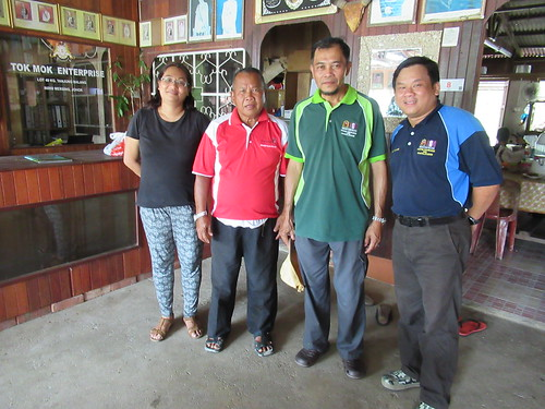 Meeting with Tok Mok Village Head