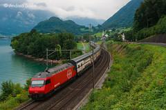 Re.460.064 'Mythen' SBB (Andrea Sosio) Tags: re460 064 abb slm intercity ic 567 schweizerischebundesbahnen sbb cff ffs treno train unterterzen quarten kantonsanktgallen schweiz nikond60 andreasosio