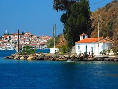 Grecia-ermita (Aproache2012) Tags: navegar mediterraneo cicladas peloponeso flotilla familar niños vacaciones relax