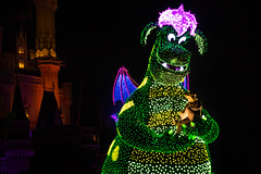 IMG_0869 (kattwyllie) Tags: tokyodisney tokyodisneyland dreamlights tokyodisneyelectricalparade electricalparade disneyselectricalparade churro tokyodisneyresort tangled aladdin petesdragon disneyperformer facecharacter disneyprincess