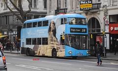 LT335 Arriva London (KLTP14) Tags: lt335 arriva london allover advert visit egypt nrm nbfl newroutemaster newbusforlondon
