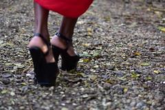 Just take my hand, lead, dance with me... (Pics4life.nl) Tags: high heels shoes feet dancing love red walk hoge hakken schoenen voeten dansen liefde rood wandelen autumn memory d750 sigma nikon dance dans