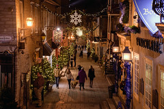 Old Town Quebec (caribb) Tags: canada quebec quebeccity vieuxqubec oldquebec historic canadianhistory buildings heritage urban city 2016 downtown centreville street streets centrum ruepetitchamplain narrowstreet pedestrianstreet