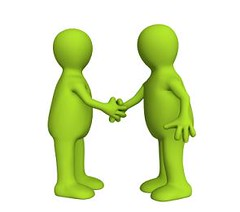 Socializando (luciallonto) Tags: handshake business people agreement hands communications partnership human men businessman greeting success contract cooperation teamwork person togetherness decisions employment customer friendship determination two achievement concepts team ideas trading trust image isolated merger sign expressing dealing commercial congratulating white positivity cheerful symbol interview offer support 3d render green stylization