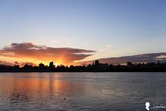 2015.8.20 忠孝碼頭日出霞光 (Steven Weng) Tags: sky cloud sunrise canon taiwan taipei 台灣 台北 雲 skyfire 日出 ef1740 霞光 晨彩 eos5d2 忠孝碼頭