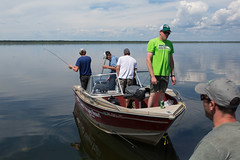 Fish On! (Rob Kunz) Tags: lake water recreation kunz sportsrecreation