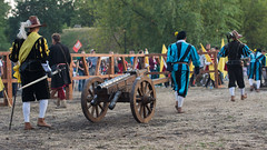 Medieval artillery (PiotrTrojanowski) Tags: people medieval event cannon artillery reconstruction gunpowder
