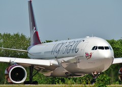 G-VWAG (AnDrEwMHoLdEn) Tags: manchester airport virgin a330 virginatlantic manchesterairport egcc 05l