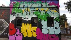 Yuck... (colourourcity) Tags: streetart graffiti awesome melbourne yuck ksa throws yuc burncity colourourcity ksacrew colourourcitymelbourne