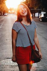 (mmoguerphotography) Tags: street light sunset espaa sun sunlight art girl fashion museum portraits canon painting lights sevilla spain arte photoshoot bokeh moda seville retratos desenfoque museo cuadros sunflares