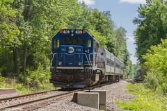 MNRR Brookville BL20GH (113) (MadMartigen) Tags: ny newyork train mta locomotive metronorth appalachiantrail dutchesscounty brookville hudsonvalley mnr pawling metronorthrailroad mnrr metronorthtrain mncr bl20gh brookvillebl20gh