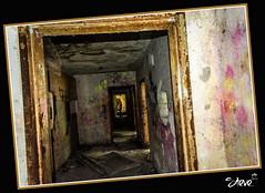 Brake at the end of the tunnel (John Brake) (Steve Stambaugh Jr.) Tags: abandoned graffiti interesting scary lima haunted forgotten historical exciting tuberculosishospital