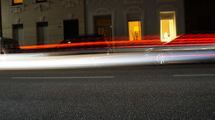 traffic lights (beckers_t) Tags: street houses cars bike train lights traffic sony dirt lantern a3000