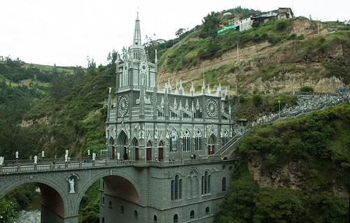 Santuario de las lajas - Templo 1
