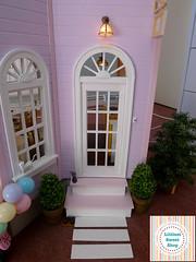 Front door (Littlest Sweet Shop) Tags: miniature ooak dollhouse dollshouse onesixthscale playscale realgoodtoys