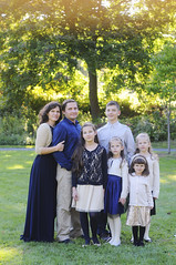 (irina_kra) Tags: life park family flowers blue light red portrait people color fall love kids children mom happy beige dad naturallight together 50mm18 nikond300