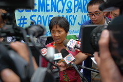 20150710-Protest for Mary Jane-064 (Lennon Ying-Dah Wong) Tags: mj philippines protest manila dfa pressconference departmentofforeignaffairs thephilippines       mjv  maryjaneveloso