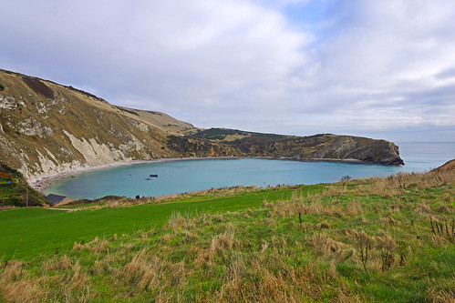 Lulworth Cove West view