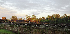 Angkor Wat temple outside of Siem Reap, Cambodia